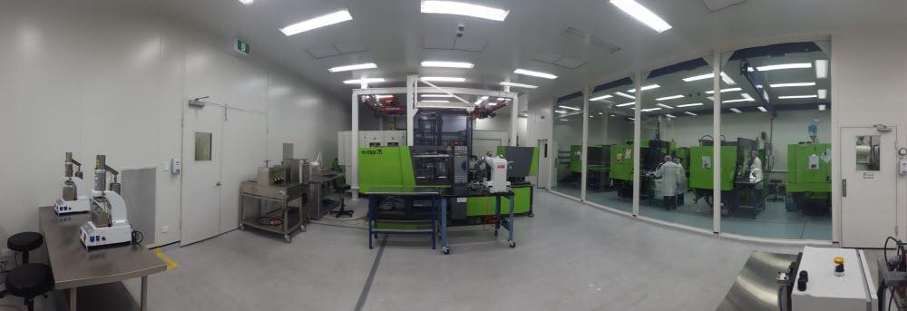 Micromolding Facility Romar