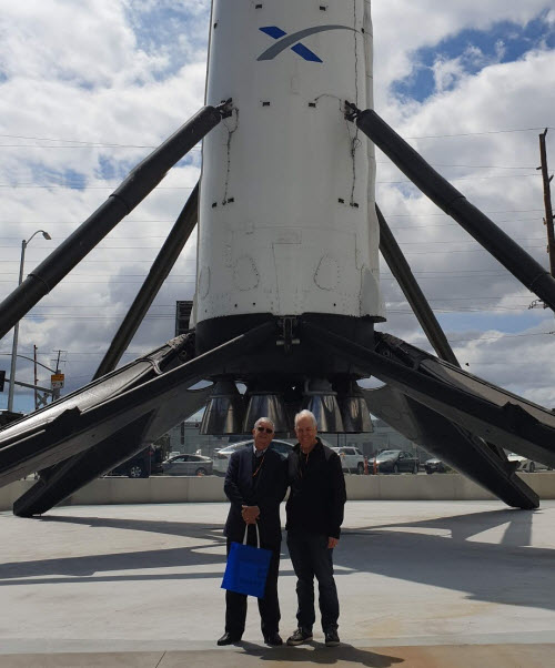 Neil and Alan & SpaceX