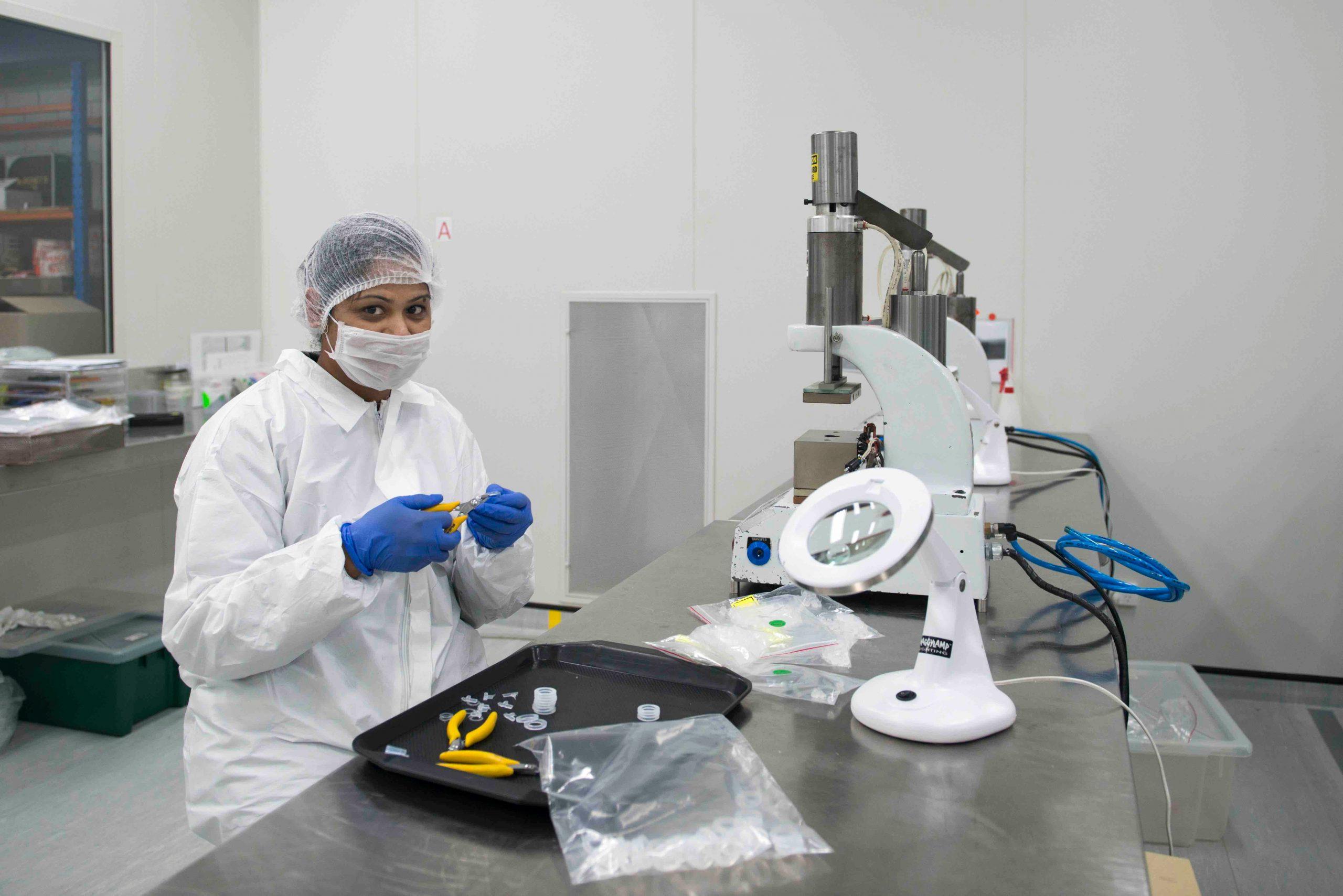 Silicone Microscope