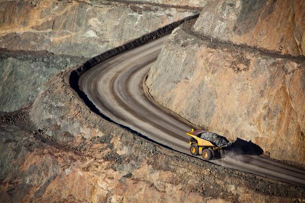 Modern gold mine in kalgoorlie