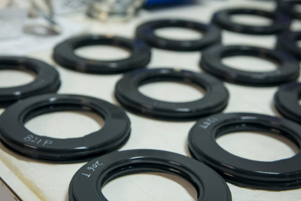 Nitrile rubber manufacturing