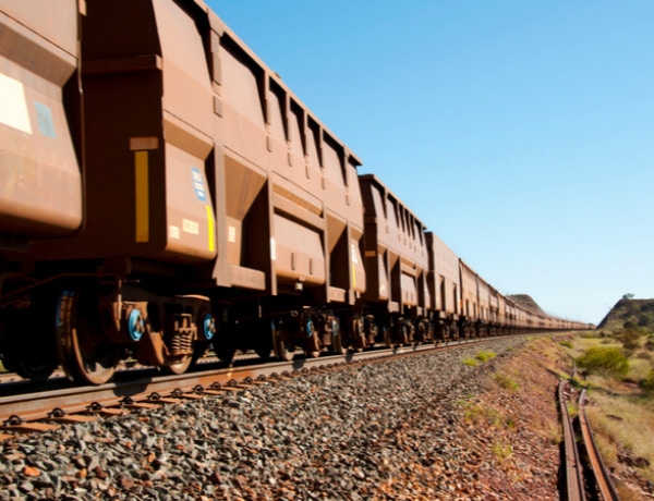 Brown long train