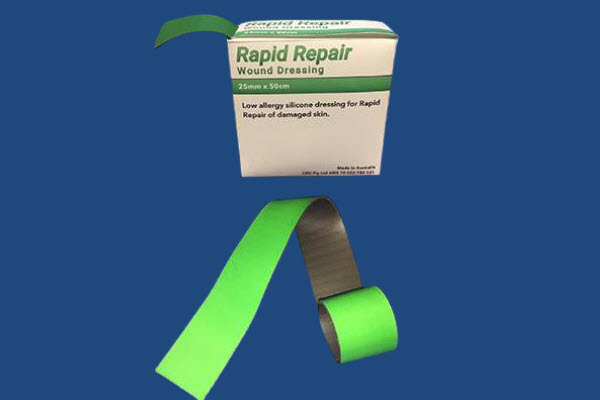 Rapid repair wound dressing product