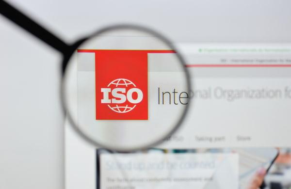 International Organization for Standardization website homepage